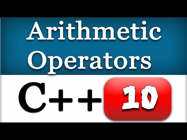 10   C   Arithmetic Operators   CPP Programming Video Tutorials for Beginners - YouTube