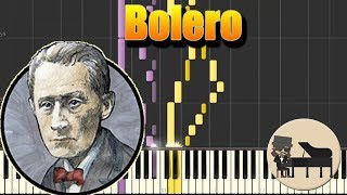 Bolero - Maurice Ravel  [Piano Tutorial] (Synthesia) HD Cover