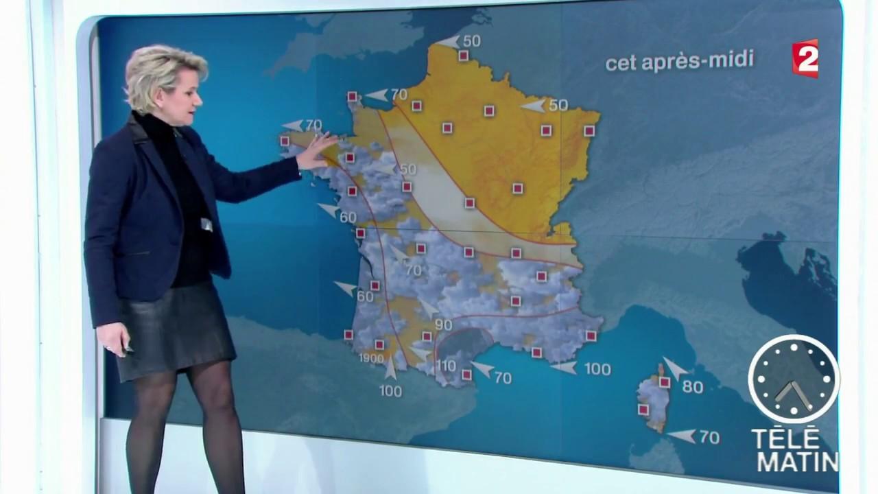 La meteo de nathalie rihouet le 2017 02 13 sur france 2 for Tele matin france 2 fr cuisine
