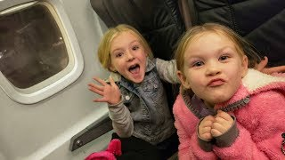 Flying to Winter in Idaho! Snow Sledding Family Fun!!