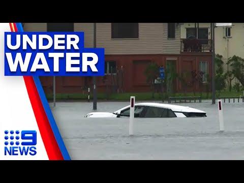 North Queensland underwater from Cyclone Imogen | 9 News Australia thumbnail