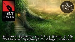 "Schubert: Symphony No. 8 in B Minor, D. 759 ""Unfinished Symphony"": I. Allegro moderato"