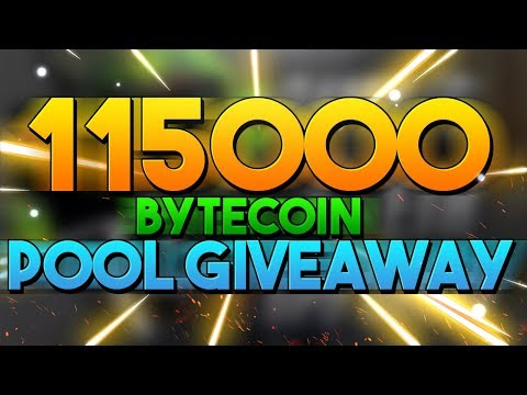 115000 Bytecoin Pool Giveaway Also Mining Bytecoin