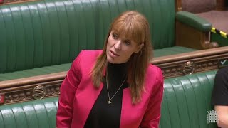 video: Angela Rayner apologises for calling Tory MP 'scum'