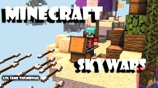 Playing WITHOUT strandable | Minecraft Skywars