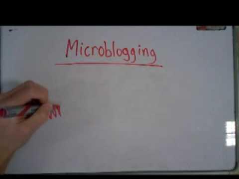 Blogging and Microblogging
