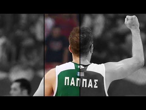"""Ο Νίκος Παππάς για πάντα στον Παναθηναϊκό ● Nikos Pappas """"Rockstar"""" ● 2013-2018 Tribute ᴴᴰ"""