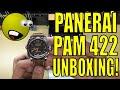 Unboxing my first Panerai Luminor Marina PAM422 422