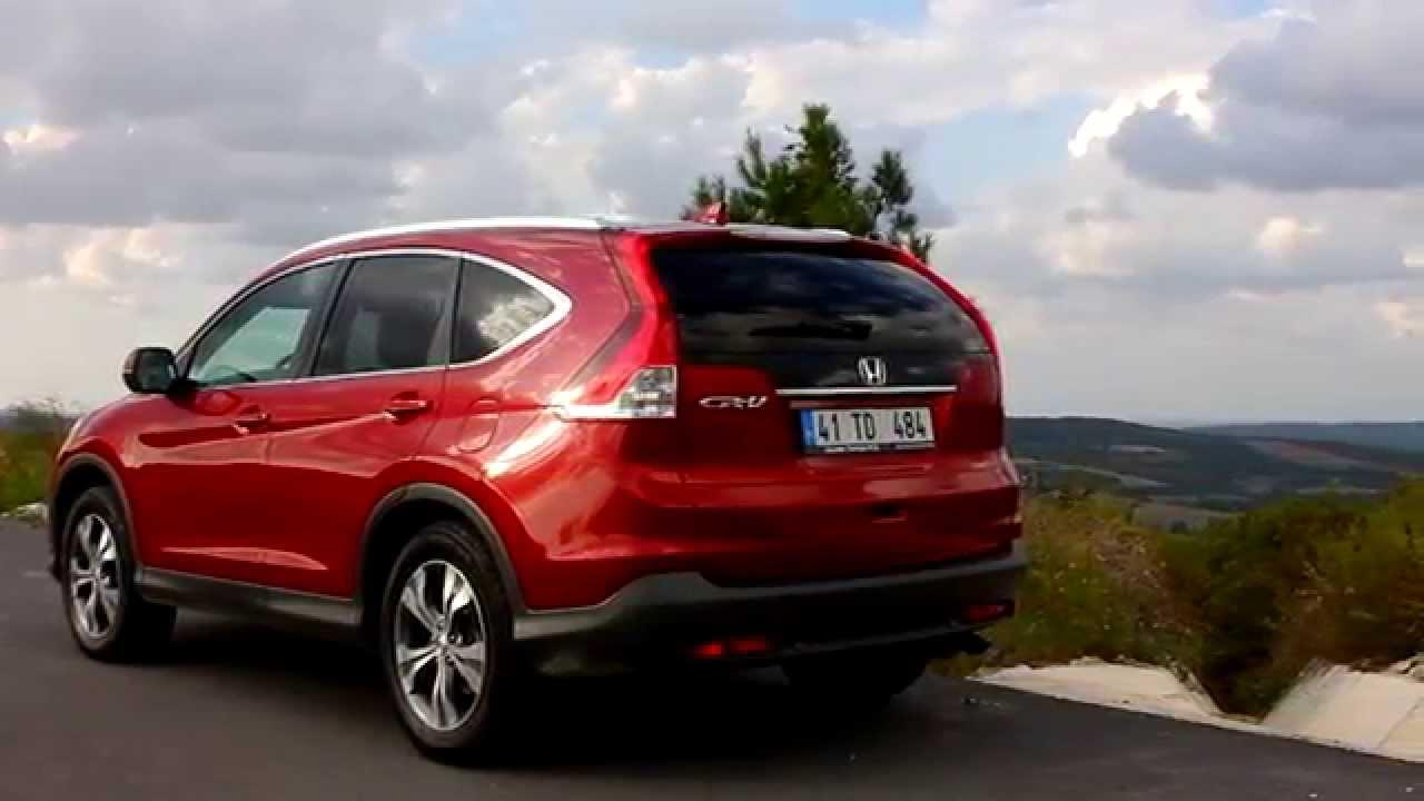 Honda CR-V 1.6 dizel test sürüşü - yorum - inceleme - YouTube