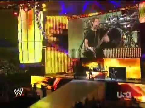 NickelBack perfroms Raw Theme Song ~Burn It To The Ground~ 2011 at TTTT. =D