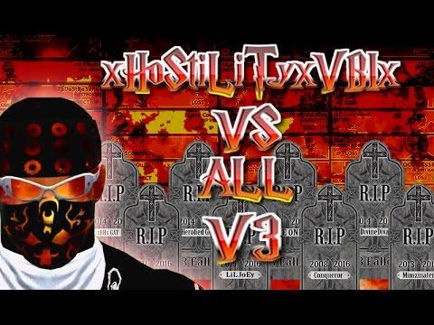 WWE 2K16 xHoStiLiTyxVBIx VS  ALL V3 - The End Of WWE