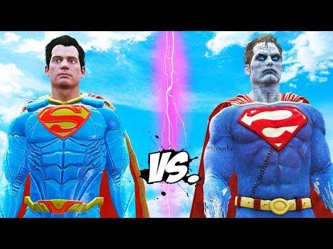 SUPERMAN VS BIZARRO/SUPERMAN - EPIC BATTLE