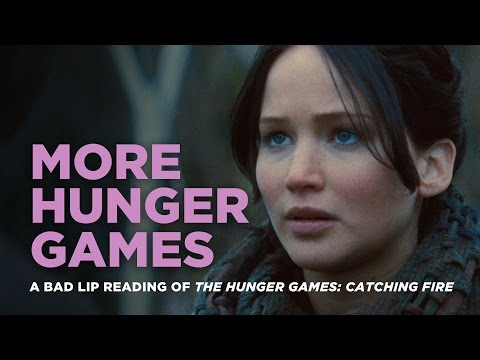 'MORE HUNGER GAMES' -- A Bad Lip Reading of Catching Fire