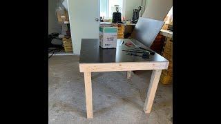 목공 작업용 테이블 제작