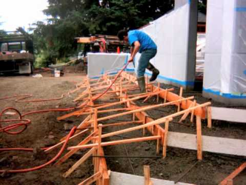 How To Form And Pour Concrete Steps Flatwork