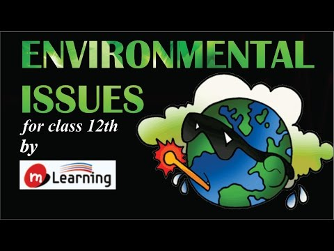 Environmental Issues - 01For Class 12th and AIPMT