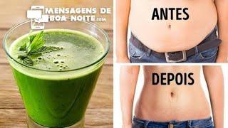 Bebida que Queima Gordura e  Emagrece ate 15kl em 27 Dias