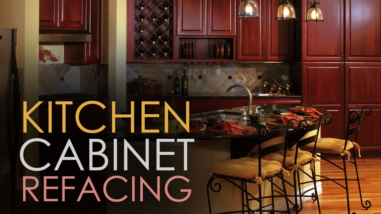 Kitchen Cabinet Refacing  Ideas DIY  Video Guide  YouTube