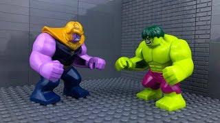 LEGO Super Heroes | Avengers VS Thanos 🔴
