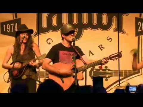 Jason Mraz - 3 Things - Live at 2014 NAMM Show