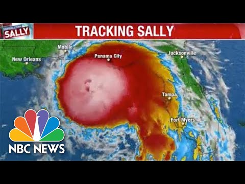 Live: Tracking Tropical Storm Sally As It Approaches Gulf Coast | NBC News