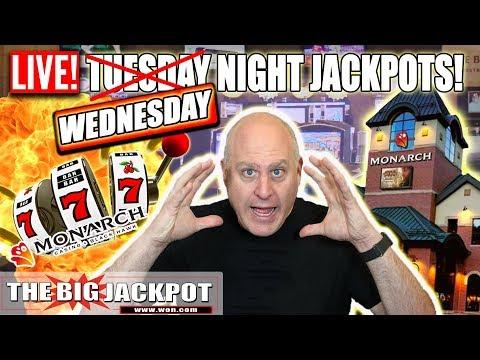 🔴LIVE Wednesday Night Slot Jackpots 🎰Monarch Casino   The Big Jackpot
