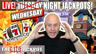 🔴LIVE Wednesday Night Slot Jackpots 🎰Monarch Casino | The Big Jackpot