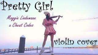 Pretty Girl - Maggie Lindemann x Cheat Codes  (Instrumental Violin Cover) • violinviiv ツ