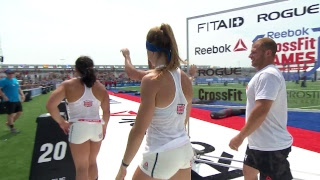 2018 CrossFit Games | Team Lunging Worm