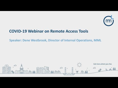 Deep-Dive Demo In Setting Up Remote-Access Meetings Webinar