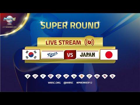 Korea V Japan - WBSC 2019 Premier12 Super Round