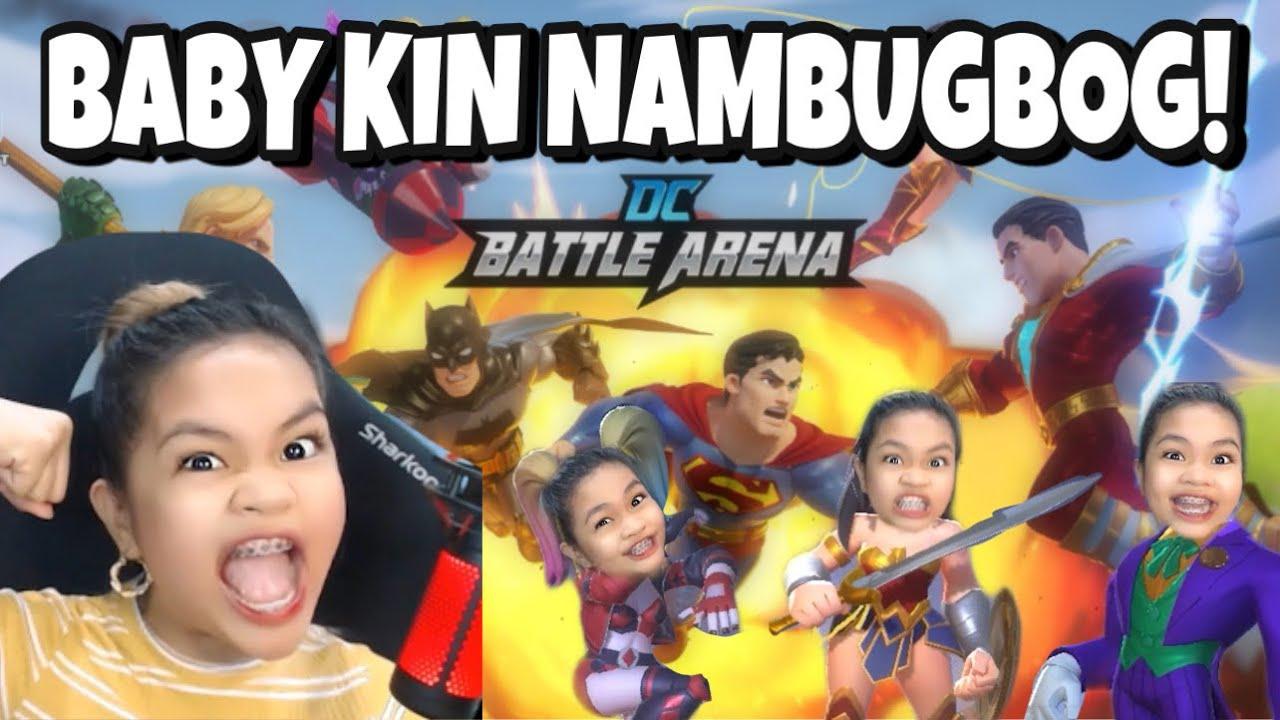 Baby Kin NAMBUGBOG sa DC Battle Arena!! (naghanap ng jowa)