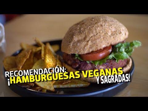 Hamburguesas veganas, deliciosas y llenadoras