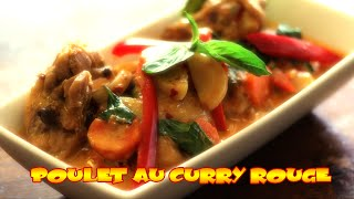 Poulet au Curry Rouge - Le Riz Jaune