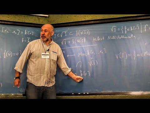 Singularities & valuations: interactions between geometry & commutative algebra 2 (Mark Spivakovsky)