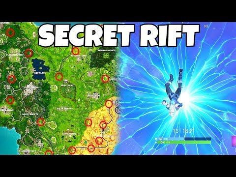 ALL RIFT/PORTAL Locations In Fortnite Battle Royale