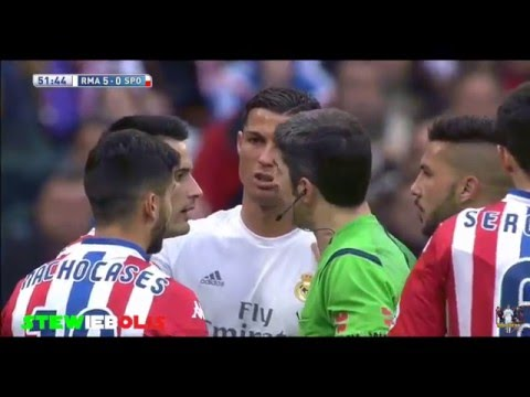 Best Football Fights of 2016 ● ft Cristiano Ronaldo,Messi,Neymar,Suarez,Diego Costa,Balotelli.. ● HD