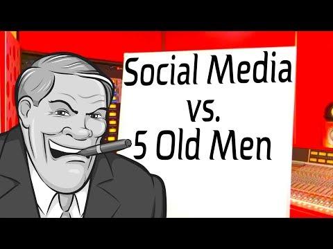 Social Media vs. 5 Old Men