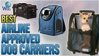 10 Best Airline Approved Dog Carriers 2018