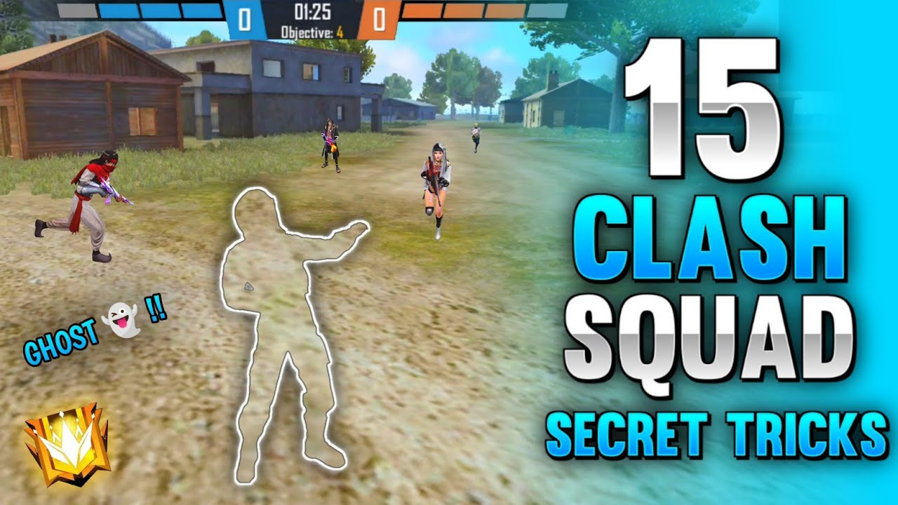 Download TOP 15 CLASH SQUAD SECRET PLACES IN FREE FIRE | CLASH SQUAD TRICKS TO REACH GRANDMASTER EASILY