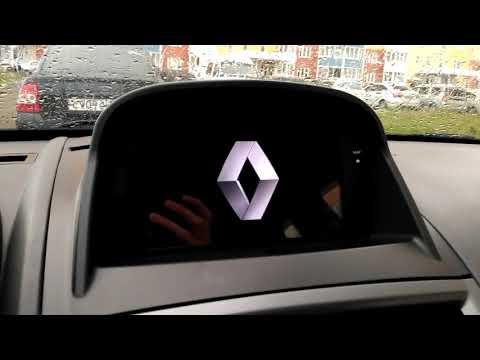 Магнитола Android 8, Renault Megane II