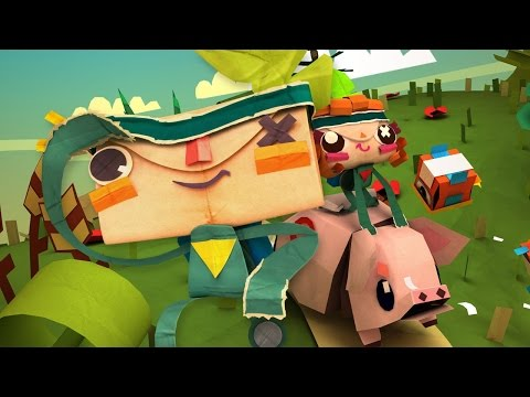 Review / Análisis Tearaway Unfolded (PS4)