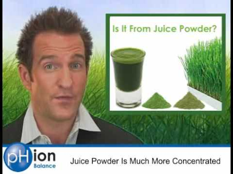 Alkalizing Greens - Green Drink, Supplements & Foods