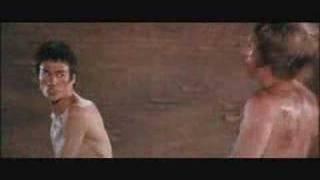 Luta entre Bruce Lee e Chuck Norris