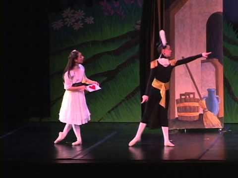 Alice's Adventures in Wonderland live ballet March 2006 Longmont Colorado part two