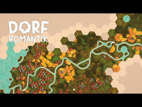 Dorfromantik Teaser Trailer - Relaxing City Builder Coming March 25th 2021