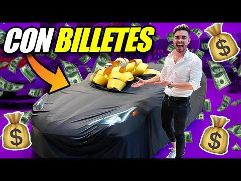 COMPRANDO MI NUEVO AUTO CON BILLETES! ?