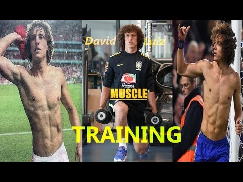 David Luiz: A Footballers Gym Workout?    Prt6