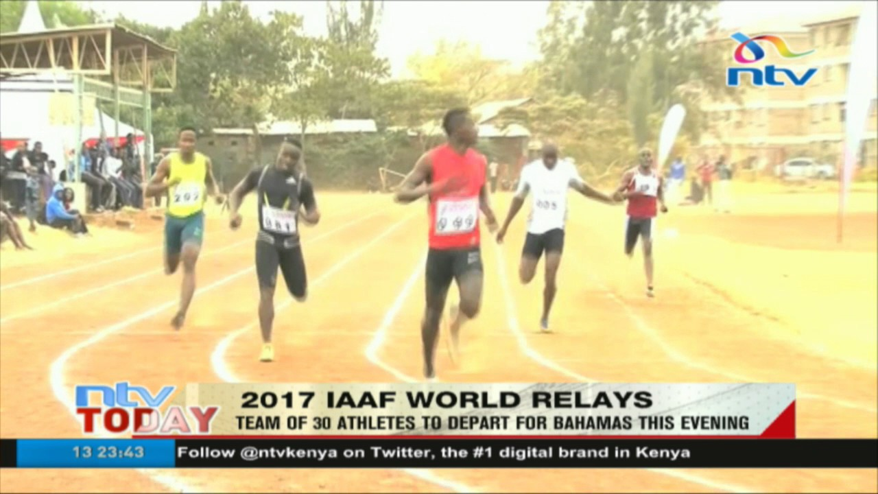 Team of 30 athletes to depart for Bahamas - 2017 IAAF World Relays