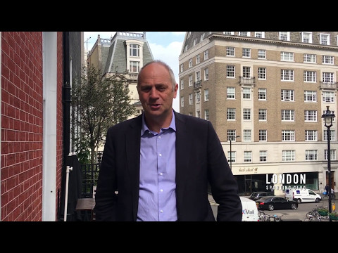 Sir Steve Redgrave concludes his lunch at the London Sporting Club